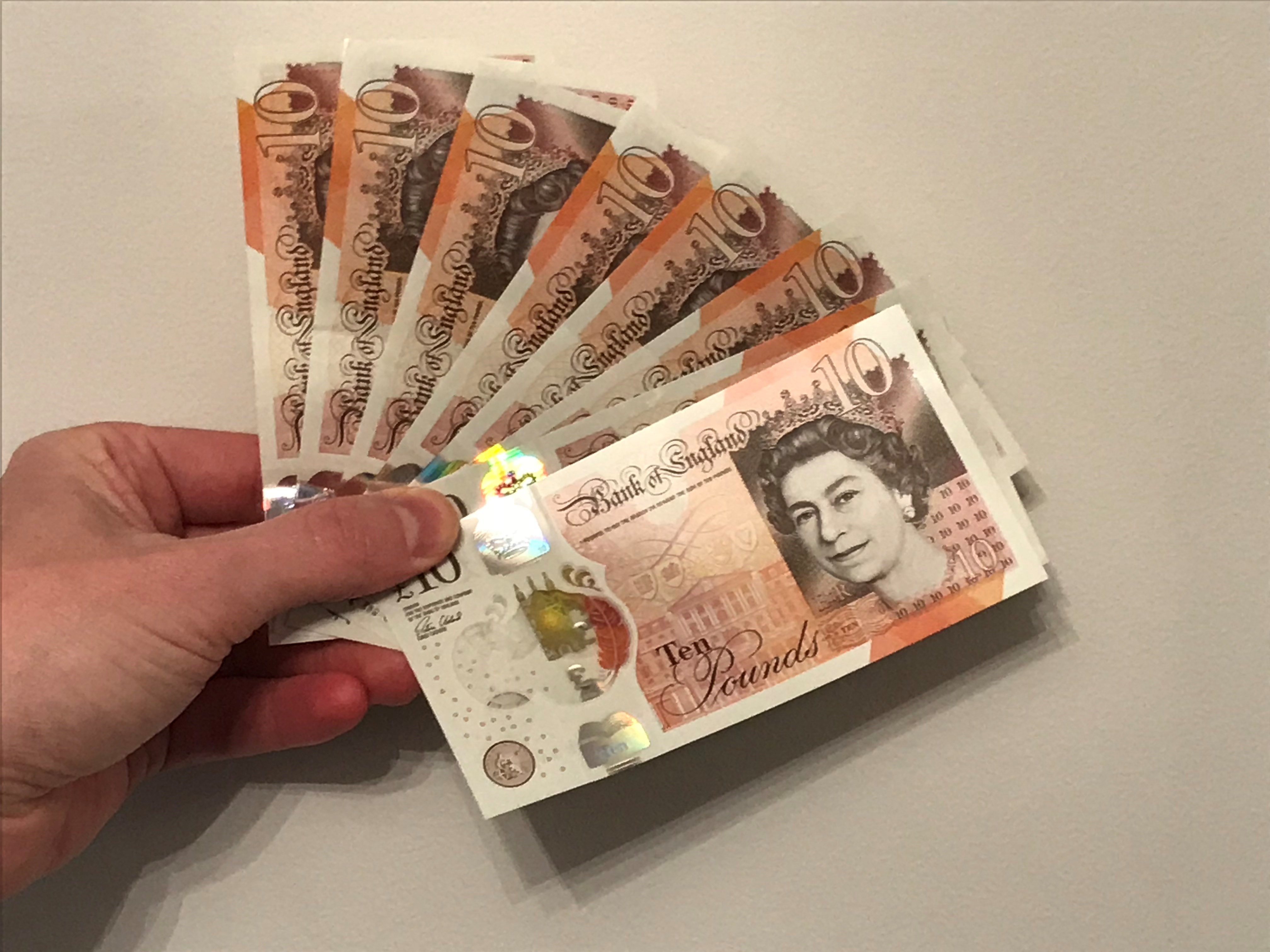 Deposit monies 2